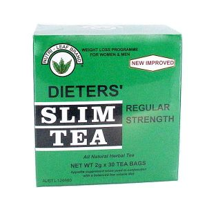 dieters slim tea regular strenght