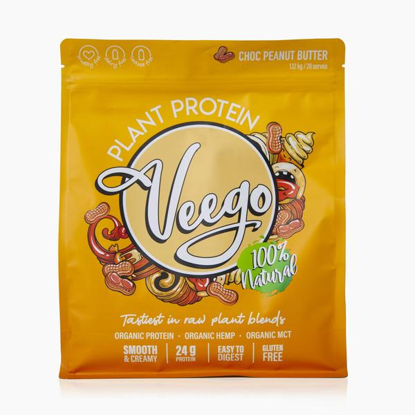 Veego Plant Protein Choc Peanut Butter